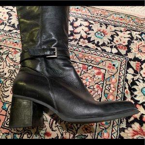 Black Caressa Boots- Phillips style